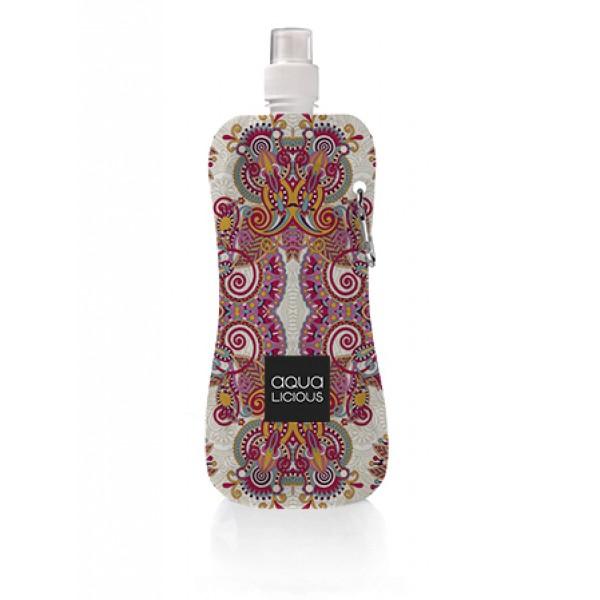 Aqua Licious összehajtható kulacs - Gipsy Pink - 400 ml