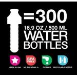 Bobble vízszűrős kulacs - Neon Pink - 550 ml
