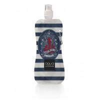 Aqua Licious összehajtható kulacs - Navy - 400 ml