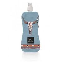 Aqua Licious összehajtható kulacs - Blue Bull