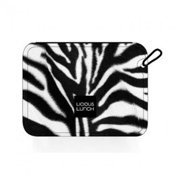 Aqua Licious összehajtható uzsonnás táska - Zebra