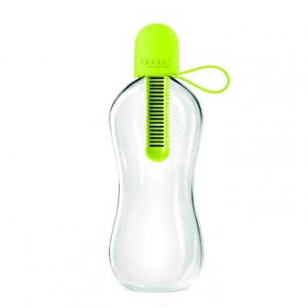 Bobble Lime with carry cap- világoszöld vízszűrős kulacs -550 ml