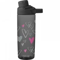 Camelbak Chute Mag Sketched Hearts - müanyag szívecskés kulacs - 600 ml