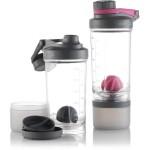 Contigo Shake&Go FIT Compartment tárolóval - pink - 650ml
