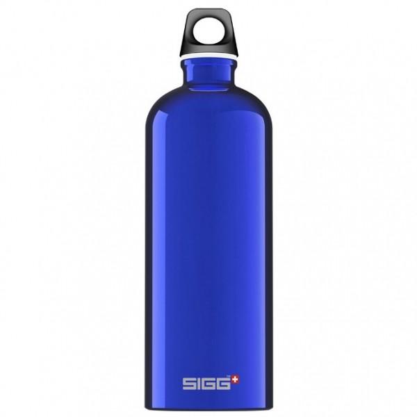 SIGG Traveller Dark Blue Svájci Fémkulacs - Sötétkék színben - 1000 ml