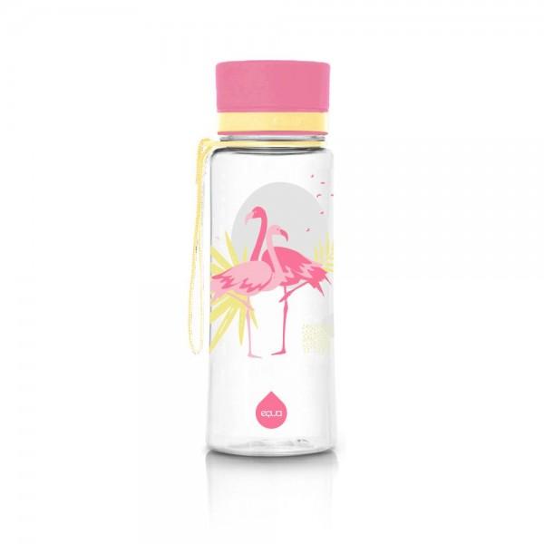 Equa Kis Flamingó - műanyag kulacs - 400 ml - BPA mentes