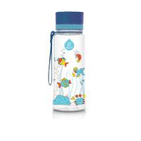 Equa  műanyag BPA mentes gyermek kulacs - Equarium kék