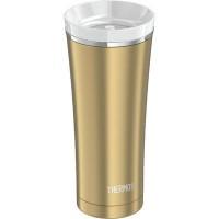 Thermos Travel Tumbler termoszbögre - teafilter tartóval - arany színben - 470ml