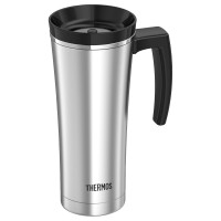 Thermos Travel Tumbler termoszbögre  fülell - ezüst - 470ml