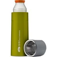 GSI  Hőtartó csepegésmentes termosz - 1000 ml - zöld színben - akár 30 órás hőtartás