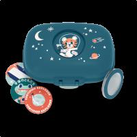 Monbento Gram Snack box uzsonnás doboz - blue Cosmic