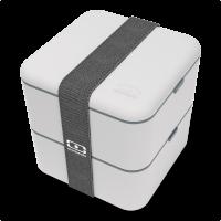 Monbento Square ételhordó doboz - Grey