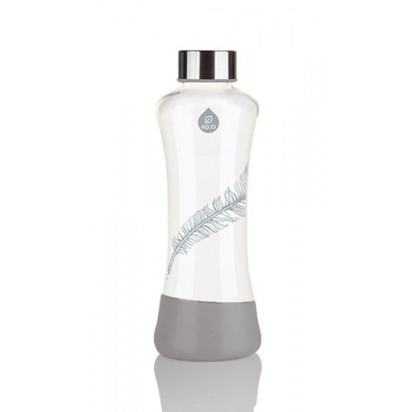 Equa ESPRIT madártoll üvegkulacs - 550ml