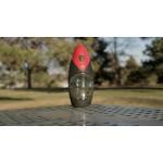nkd aqua ZÉROBactérium vízszűrő kulacs - piros -585ml - NASA technológia